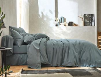 Linge de lit ┊ Percale lavée ORAGE