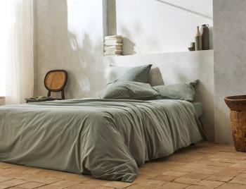 Linge de lit ┊ Percale lavée TOUNDRA